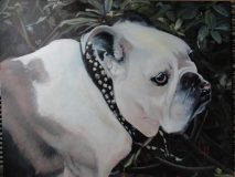 """George, a commission. 24x30""""."""